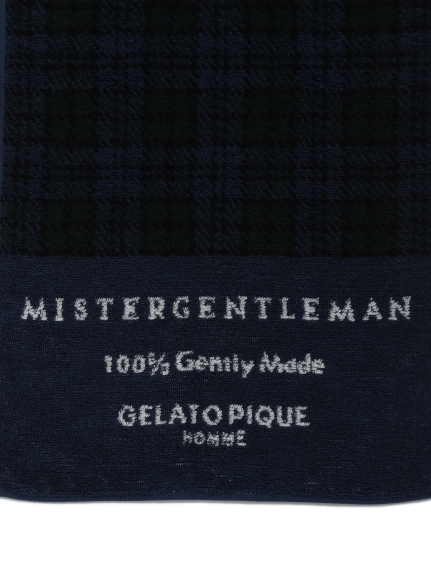【MISTERGENTLEMAN×HOMME】BLACKWATCH FACE TOWEL   PMGG204990