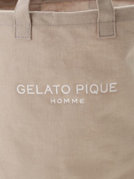 【GELATO PIQUE HOMME】リネンミックスランドリーボックス | PMGG205983