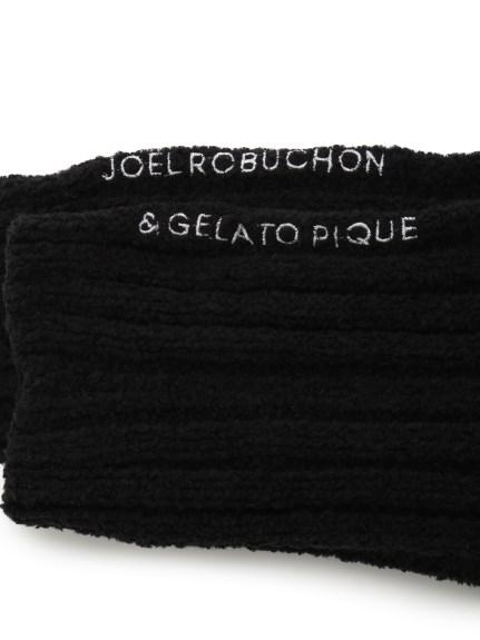 【Joel Robuchon & gelato pique】HOMME 'スフレ'リブソックス | PMGS205949