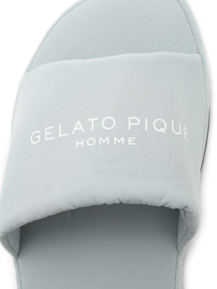 【GELATO PIQUE HOMME】ワンポイントロゴルームシューズ   PMGS212987