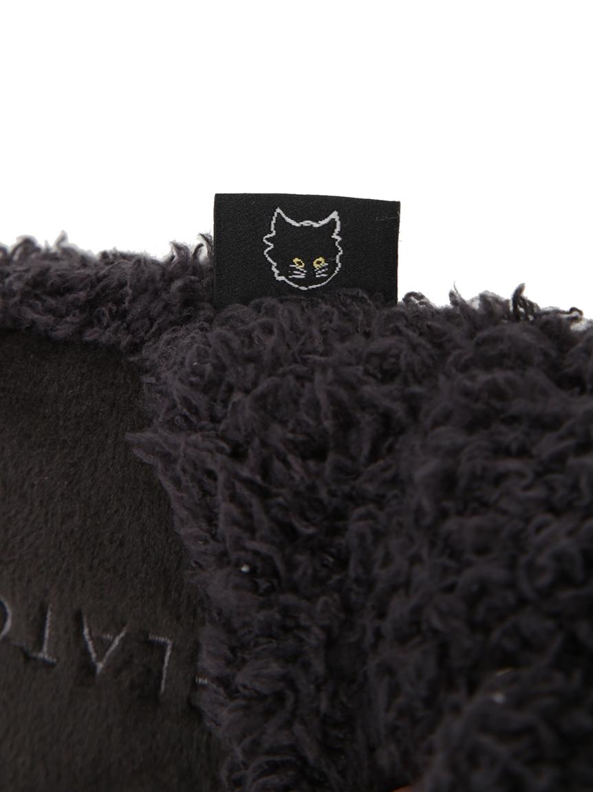 【Halloween限定】【GELATO PIQUE HOMME】 'ジェラート'クロネコルームシューズ | PMGS214996