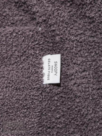 【PEANUTS】HOMME 'ベビモコ'ボーダーロングパンツ | PMNP205901