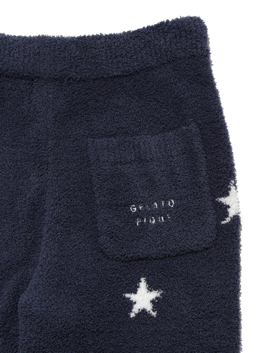 【GELATO PIQUE HOMME】 スタージャガードロングパンツ | PMNP214146
