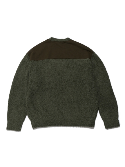 【MISTERGENTLEMAN×HOMME】BAMBOO PATCHED PULLOVER | PMNT204977