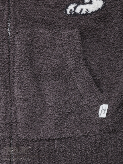 【PEANUTS】HOMME ジャガードパーカ   PMNT205902