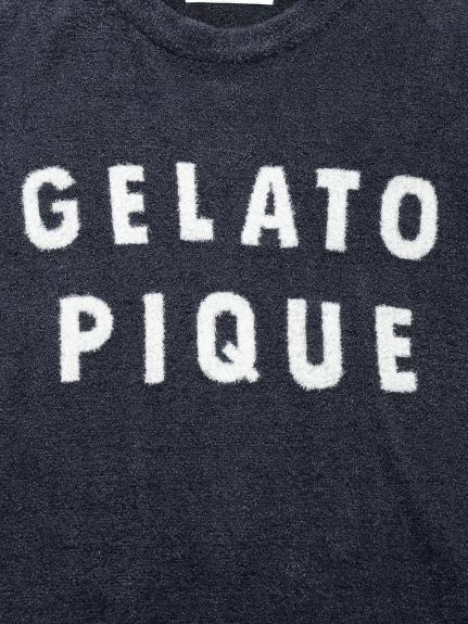 【GELATO PIQUE HOMME】'スムーズィー'ロゴジャガードプルオーバー&ハーフパンツSET | PMNT211805