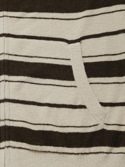 【GELATO PIQUE HOMME】'スムーズィーライト'ランダムボーダーパーカ | PMNT211806