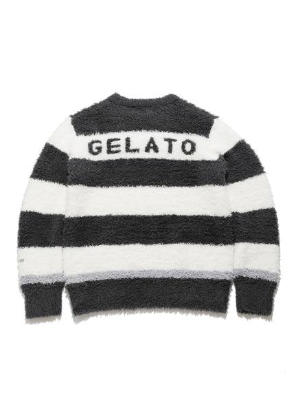 【GELATO PIQUE HOMME】'ジェラート'トリムボーダープルオーバー | PMNT211904