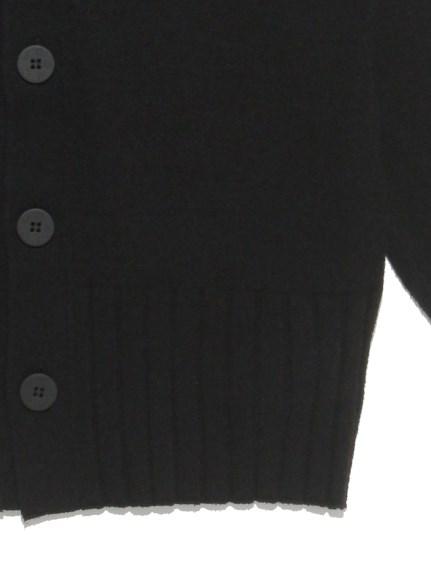 【Joel Robuchon & gelato pique】 HOMME フローズンカーディガン | PMNT212952