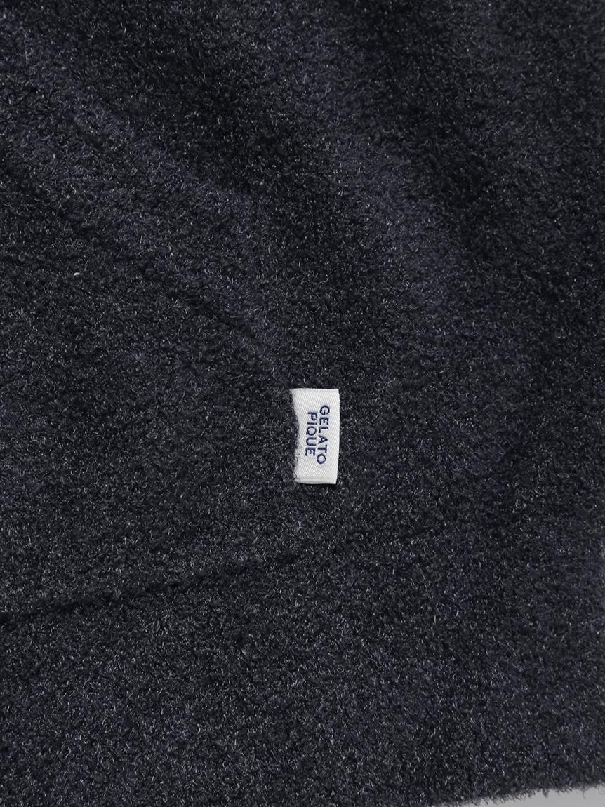 【GELATO PIQUE HOMME】 'スムーズィー'ジャガードパーカ | PMNT214131