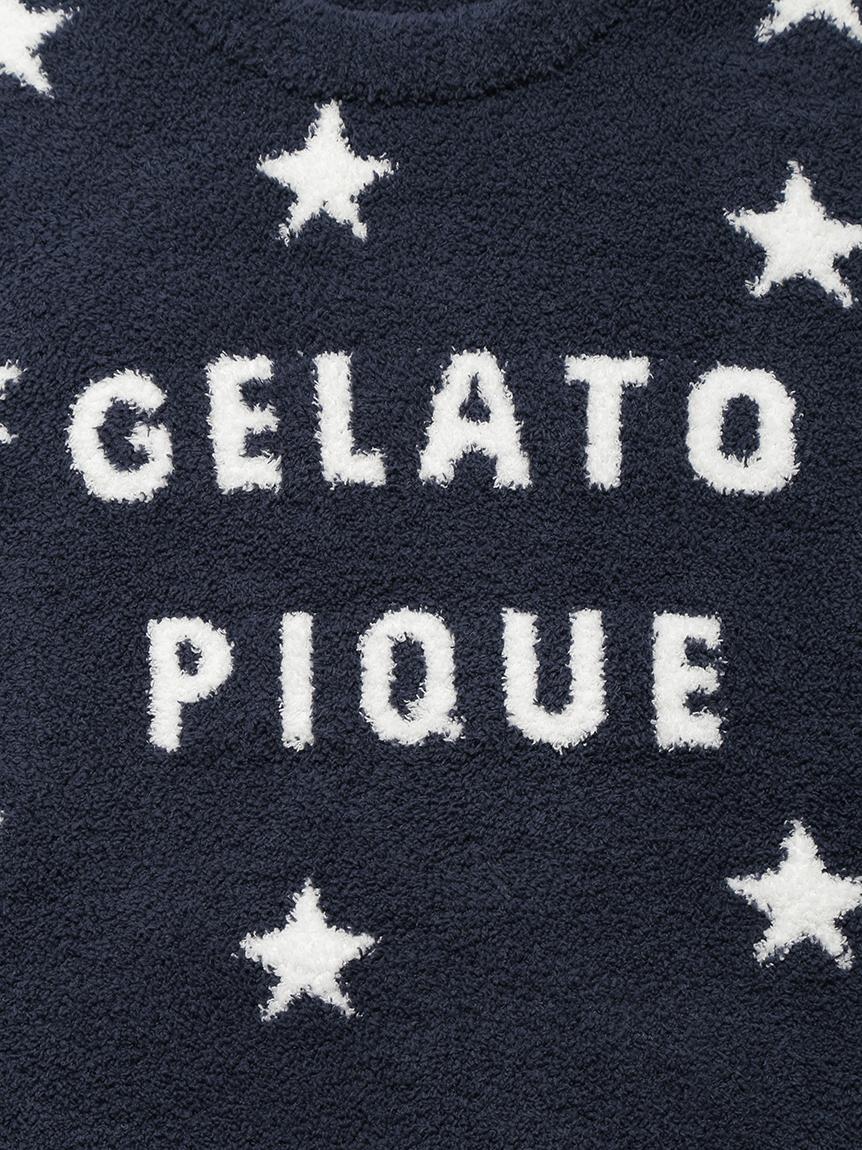 【GELATO PIQUE HOMME】 スタージャガードプルオーバー   PMNT214145