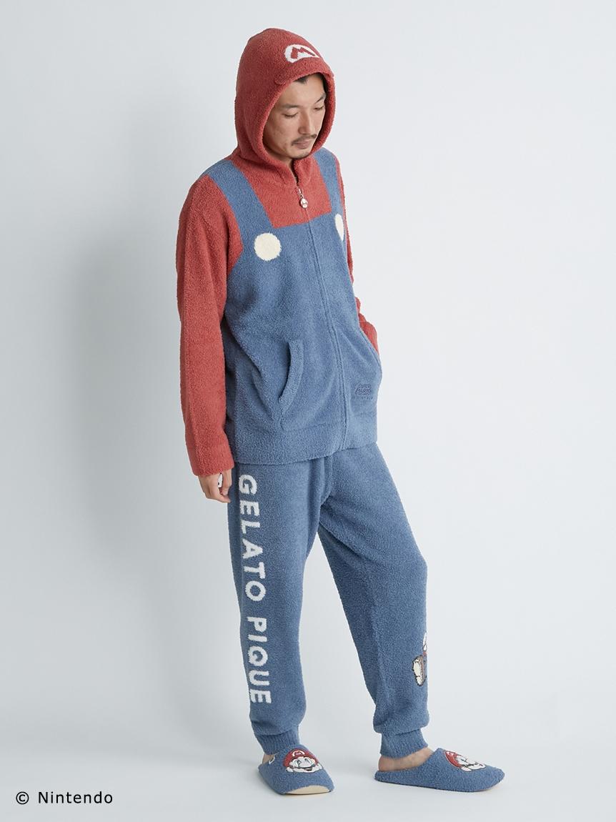 【スーパーマリオ】 【メンズ】 マリオ パーカ&ロングパンツ   PMNT214155
