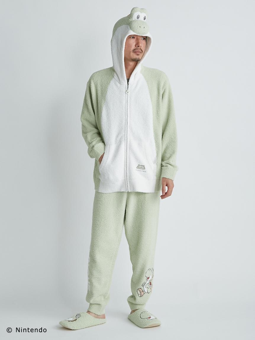 【スーパーマリオ】 【メンズ】 ヨッシー パーカ&ロングパンツ | PMNT214156