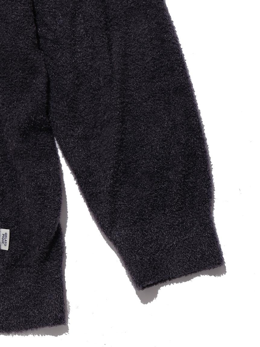【GELATO PIQUE HOMME】 スムーズィーロゴジャガードパーカー | PMNT214927
