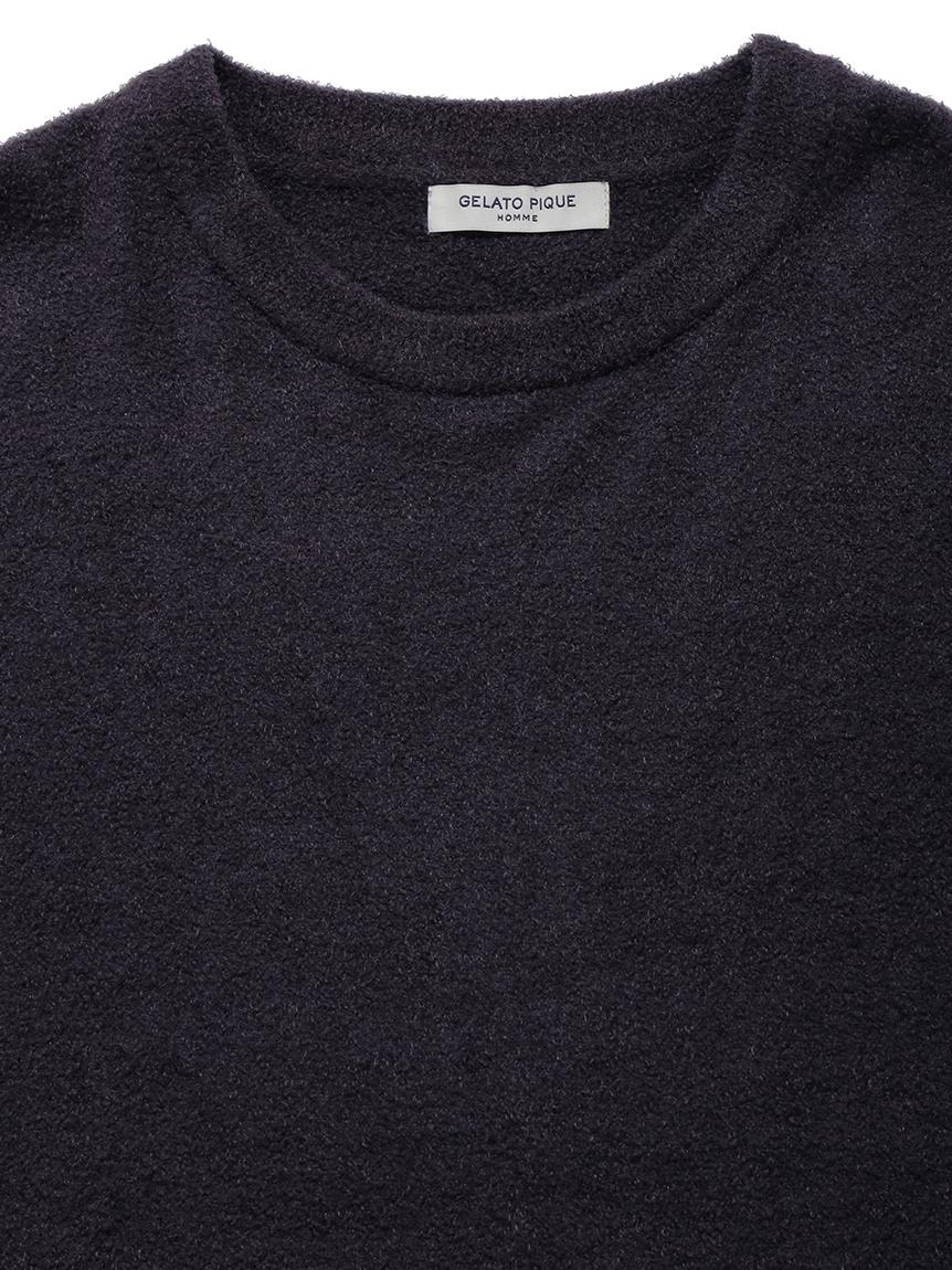 【GELATO PIQUE HOMME】 スムーズィーロゴジャガードプルオーバー | PMNT214928