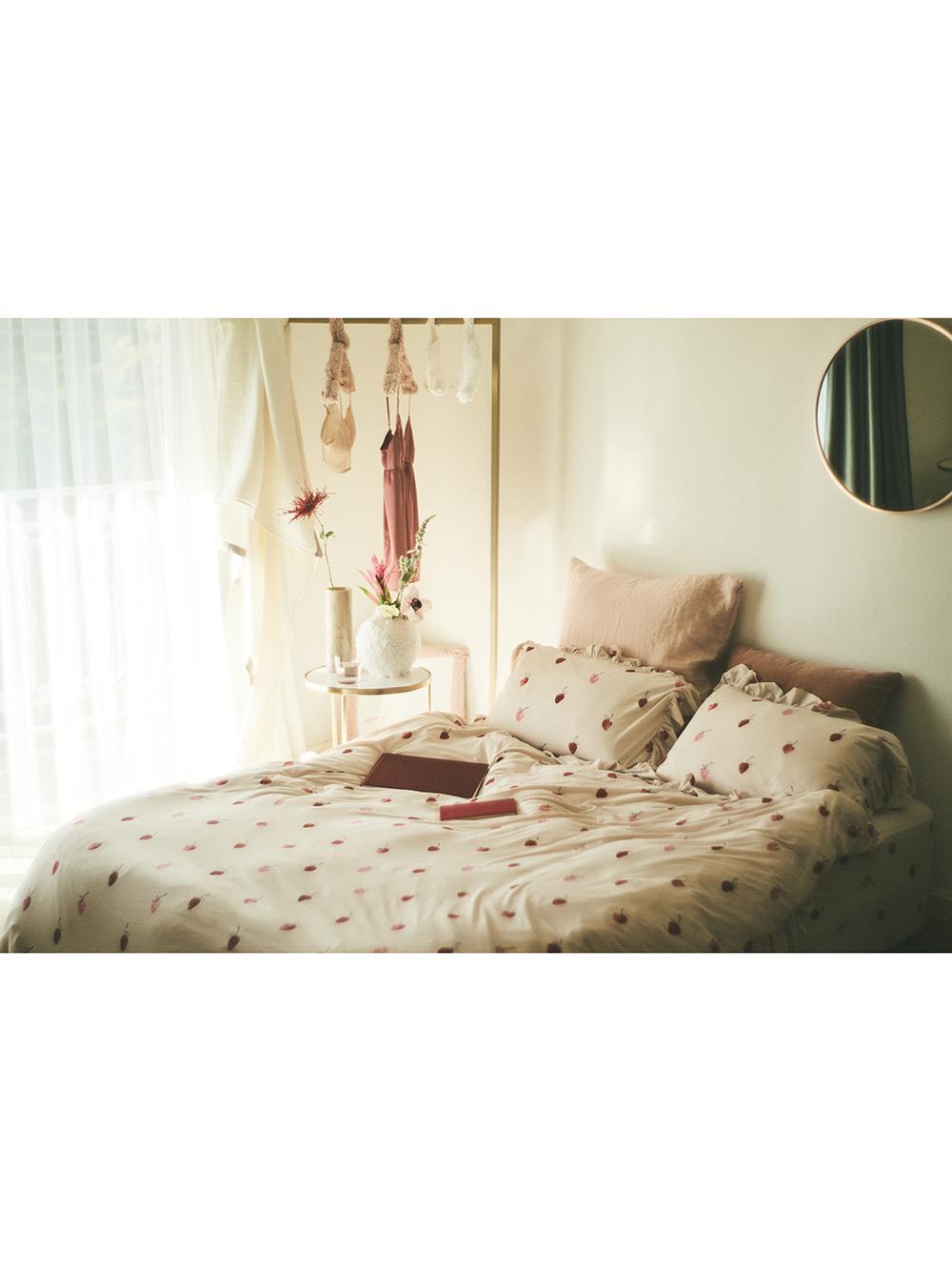 【Sleep】(シングル)ストロベリーモチーフ2点SET | PSGG211005