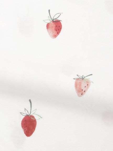 【Sleep】(シングル)ストロベリーモチーフ掛け布団カバー | PSGG211008