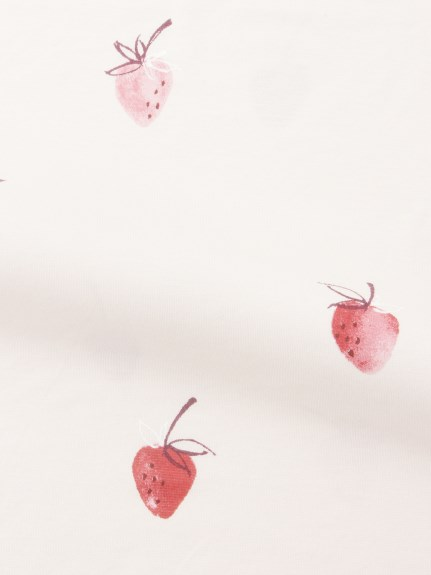 【Sleep】(セミダブル)ストロベリーモチーフ掛け布団カバー | PSGG211009