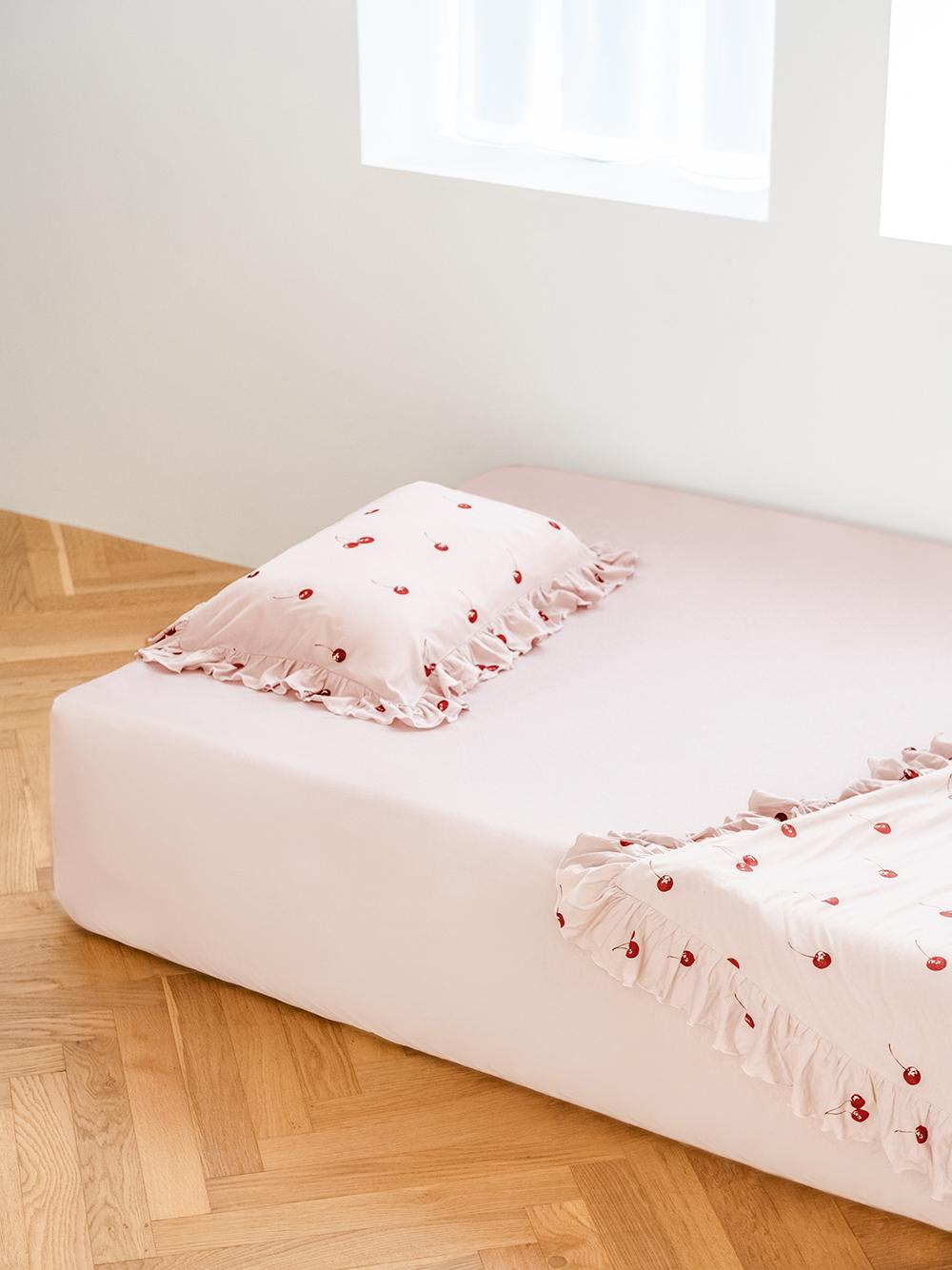 【Sleep】チェリーモチーフ枕カバー | PSGG211027