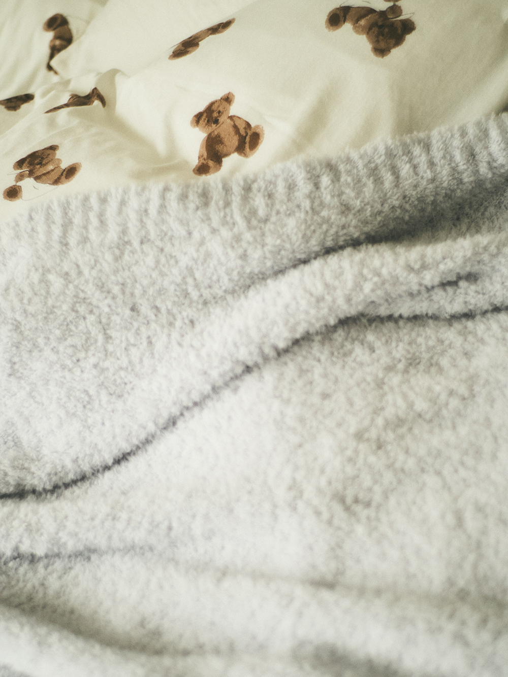 【Sleep】(シングル)ベアモチーフ掛け布団カバー | PSGG211034