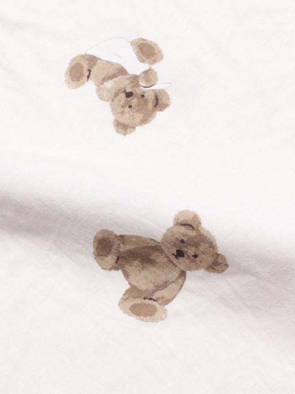 【Sleep】(セミダブル)ベアモチーフBOXシーツ | PSGG211038