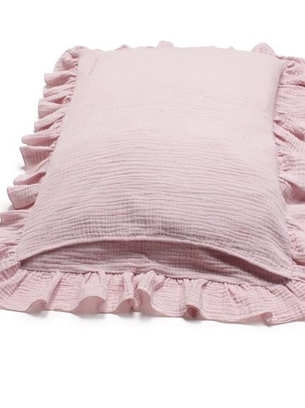 【Sleep】ガーゼフリル枕カバー | PSGG212817