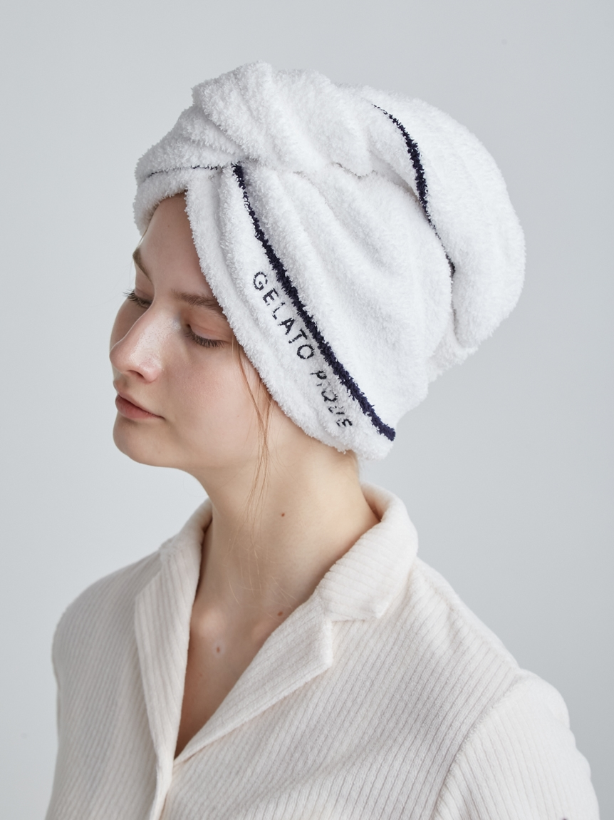 【Sleep】吸水モコトリムラインヘアキャップ | PSGG212846