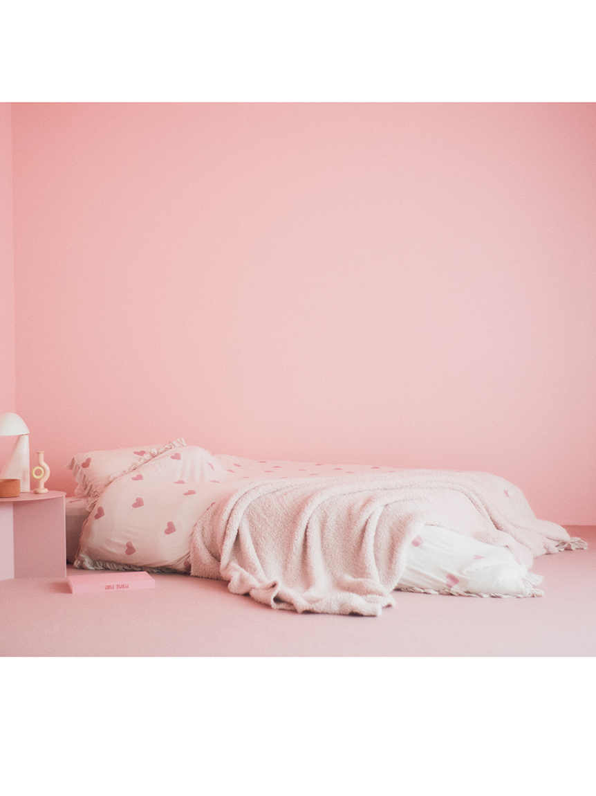 【Sleep】【ONLINE限定】 ハート柄3点SET ダブル | PSGG214808