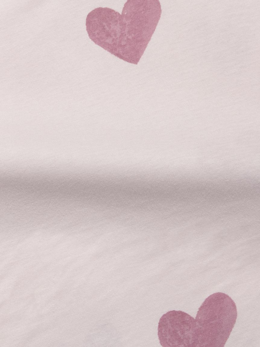 【Sleep】【ONLINE限定】 ハート柄掛けカバー シングル | PSGG214812