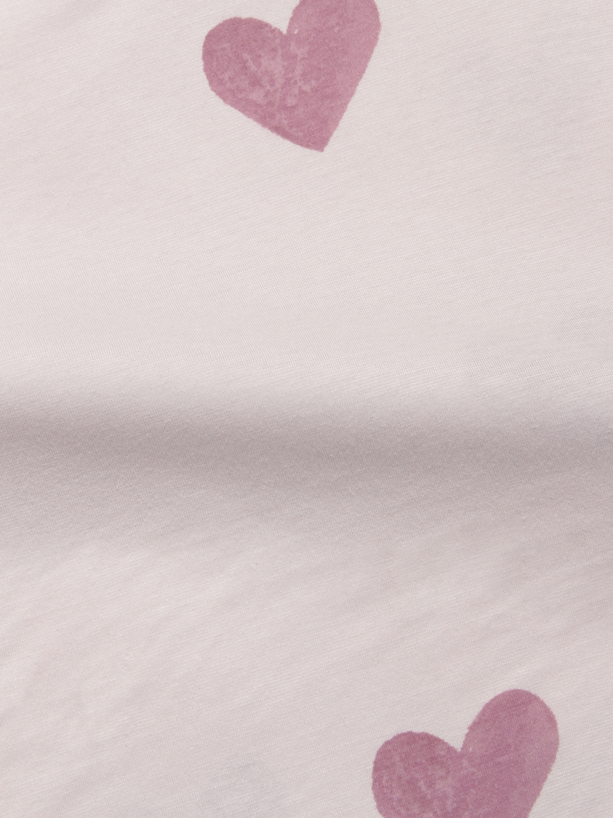 【Sleep】【ONLINE限定】 ハート柄掛けカバー セミダブル | PSGG214813