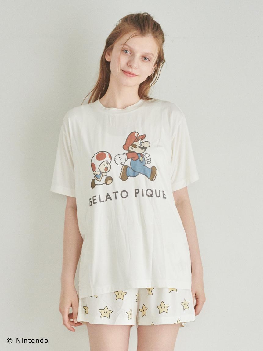 【スーパーマリオ 限定商品】【UNISEX】キャラクターTシャツ   PUCT214337