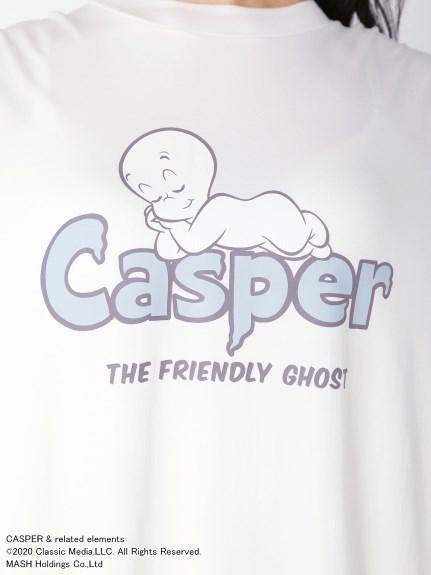 【CASPER】ワンポイントBIGスリーブドレス | PWCO204330