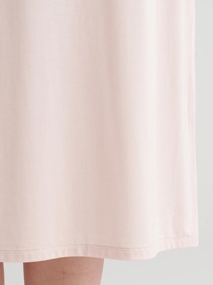 スプリングレーヨンロゴドレス | PWCO211355