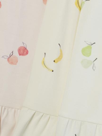 【ONLINE 限定】フルーツモチーフティアードドレス | PWCO211801