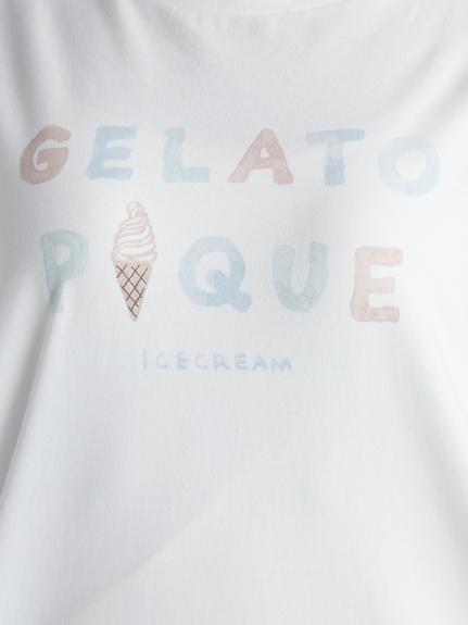 アイスクリームロゴワンポイントドレス | PWCO212213