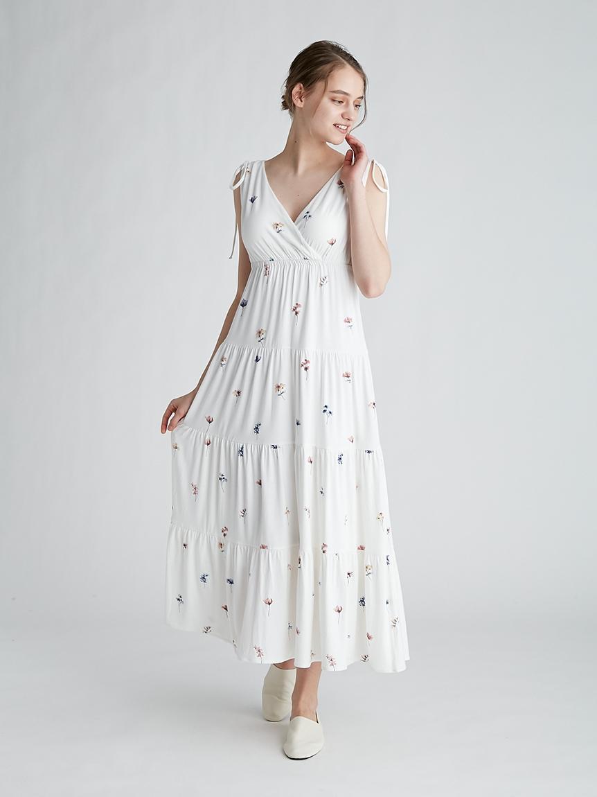 ポッピンフラワーモチーフドレス   PWCO212222
