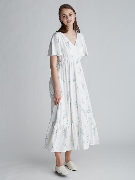 【ONLINE限定】リップフラワーモチーフドレス   PWCO212224