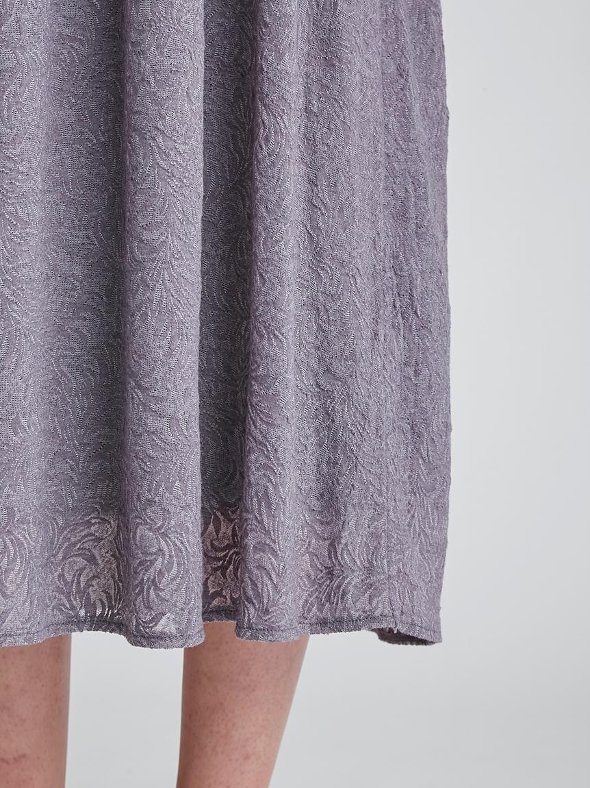 リーフレーシージャガードドレス | PWCO212271