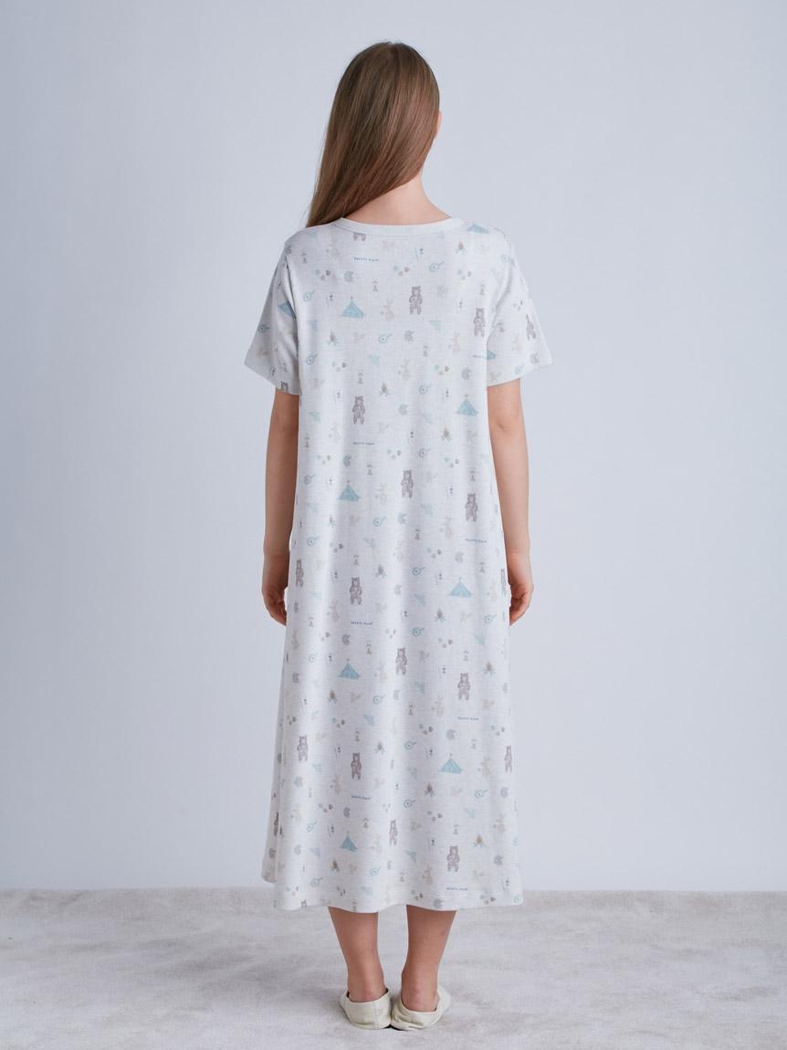 アニマルキャンプモチーフドレス | PWCO214211