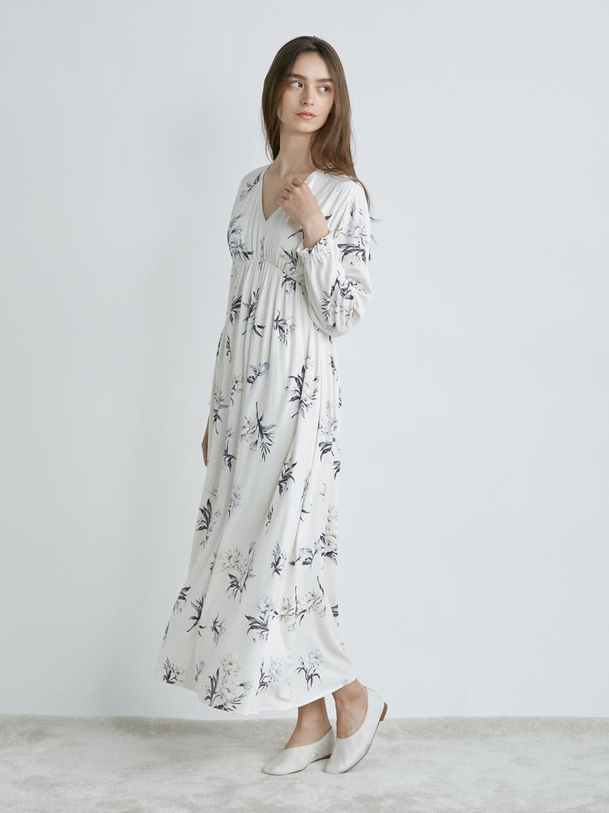 中花柄ドレス | PWCO214283