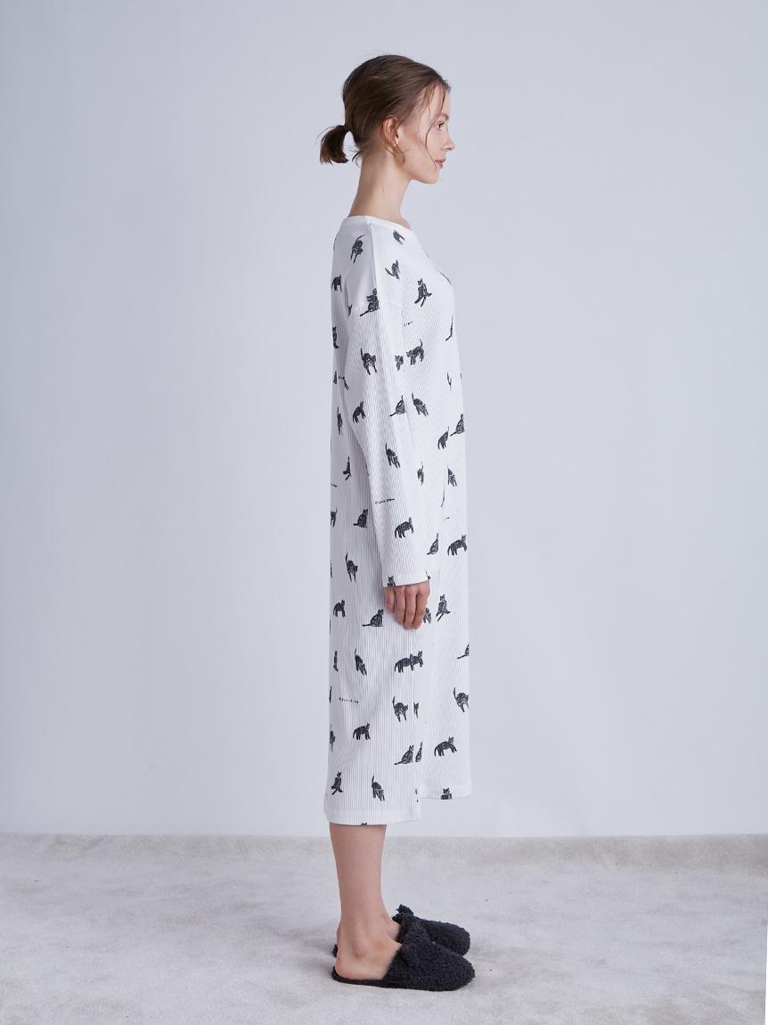 【LADIES】【Halloween限定】クロネコモチーフドレス | PWCO214300