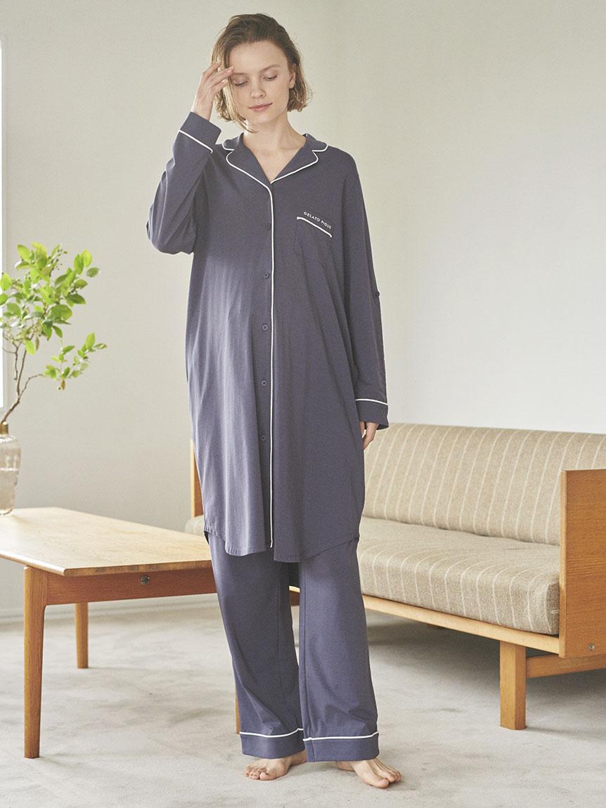 マタニティパイピングシャツドレス | PWCO214325