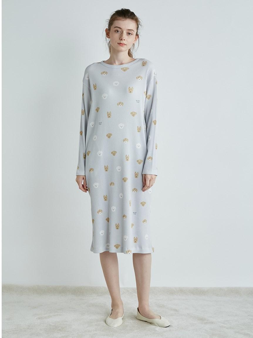 メレンゲドッグ柄ドレス   PWCO215262
