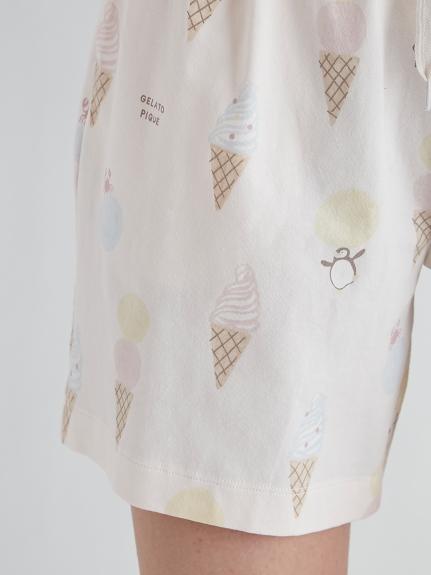 アイスクリームアニマルモチーフハーフパンツ | PWCP212214