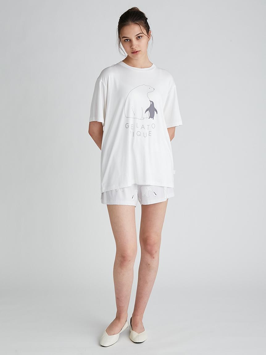 【COOL FAIR】シロクマモチーフショートパンツ | PWCP212241