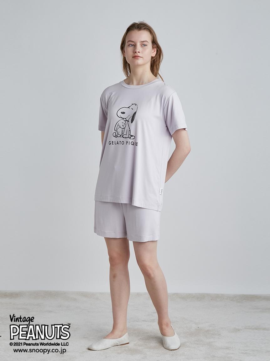 【PEANUTS】プリントショートパンツ   PWCP214314
