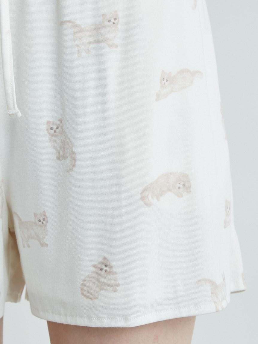 ネコ柄ショートパンツ | PWCP215205