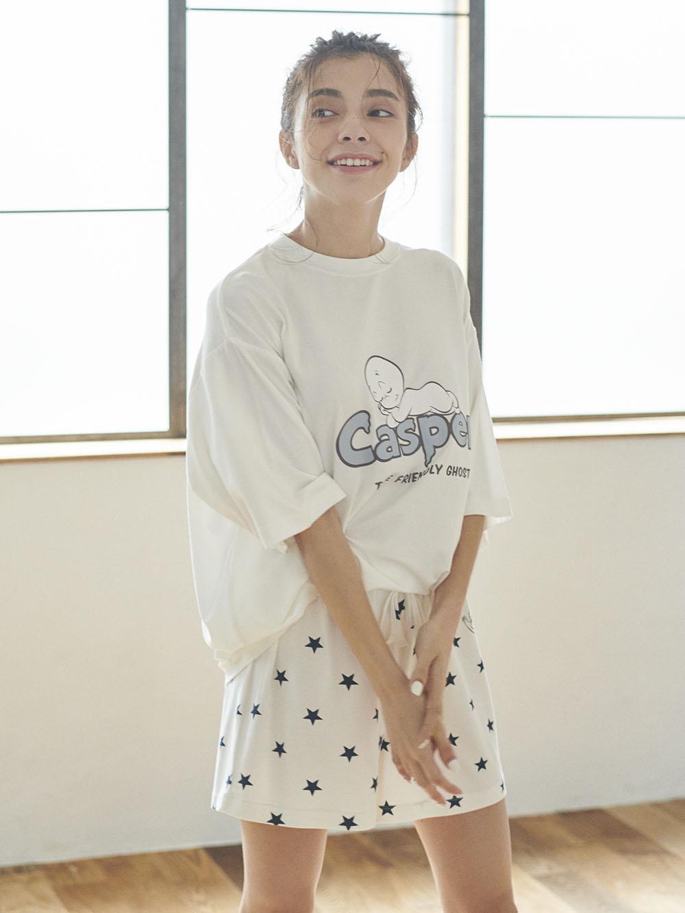 【CASPER】ワンポイントTシャツ | PWCT204331