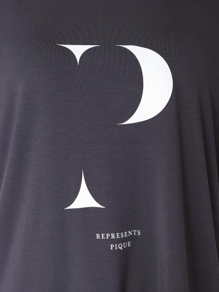 イニシャルロゴレーヨンTシャツ | PWCT204341