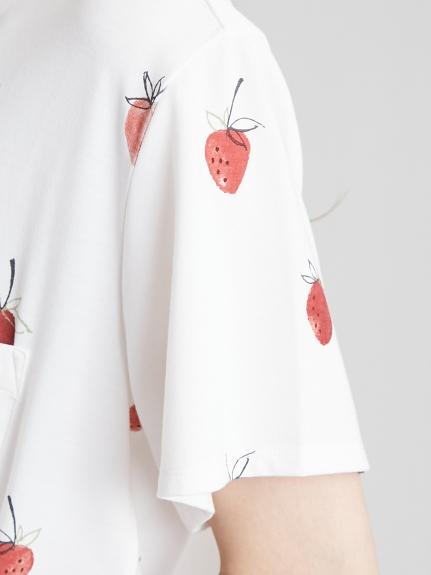 【ONLINE限定】ストロベリーモチーフシャツ   PWCT211228